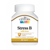 Stress B with Iron - 66 Tabs