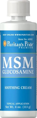 MSM with GLUCOSAMINE CREAM, 113 гр