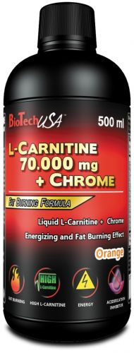 BTN L-Carnitine Liquid 70000, 500 мл