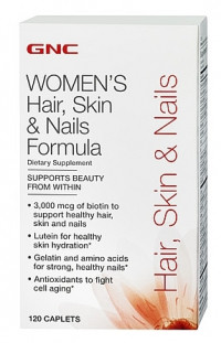 GNC Womens Hair, Skin, Nails Formula, 60 табл
