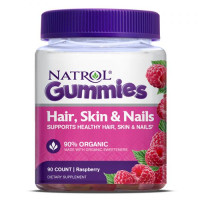 Hair, Skin & Nails Gummies - 90 gums Raspberry