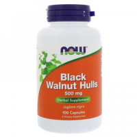 BLACK WALNUT HULLS 500mg - 100 caps