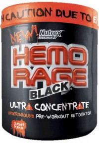 NUTREX Hemo Rage Black Ultra Concentrate, 292гр