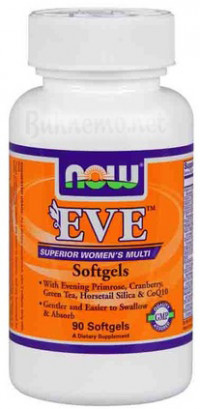 NOW Eve Womens Multiple Vitamin, 180 softgels