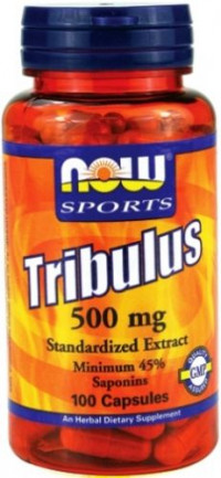 NOW Tribulus 500mg, 100капс