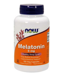 NOW Melatonin 5 mg, 180 капс