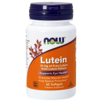 NOW Lutein 10 mg, 120 softgel
