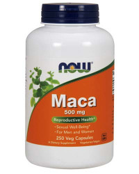 NOW Maca 500 mg, 100 капс