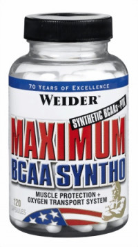 Weider Maximum BCAA Syntho, 120капс