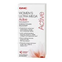 GNC Womens Ultra Mega Active, 90 капс