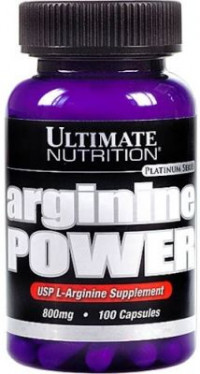 ULTIMATE Arginine Power 800mg, 100 капс