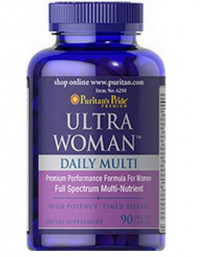 Puritan's Pride Ultra Woman Daily Multi (Timed Release), 90 табл