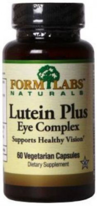 FORM Lutein Plus Eye Complex, 60капс