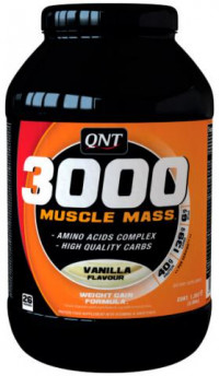 QNT_3000 Muscle Mass, 1300 гр
