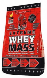 SUPPLEMAX Extreme Whey Gainer, 6800 гр