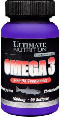 ULTIMATE Omega3, 90гелькапс