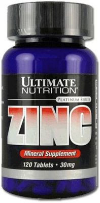 ULTIMATE Zinc 30mg, 120таб