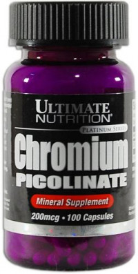 ULTIMATE Chromium Picolinate, 100капс