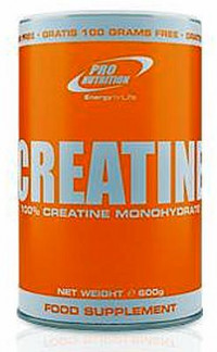 Pro nutrition Creatine Ultrapure, 600 g