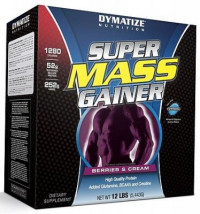 DYMATIZE Super Mass Gainer, 5440гр