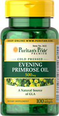 Evening Primrose Oil 500 mg with GLA, 100 капс