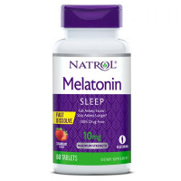 Melatonin Fast Dissolve 10 mg - 60 tabs Citrus