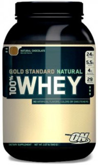 ON 100% Natural Whey Protein Gold Standard, 908гр