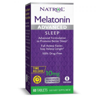 Advanced Sleep Melatonin 10 mg - 60 tabs