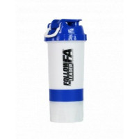 Shaker - 500ml White Blue