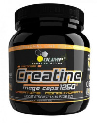 Creatine Mega Caps 1250, 120 капс